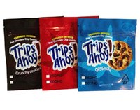 Empty 250mg 500mg Trips Ahoy bags Smell Proof Packaging Real Chocolate chip Bag Toasted Rice Cereal Mylar Package