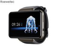 DM101 4G Smart Watch Phone телефон Android 7.1 Quad Core 3GB 32GB шагомер сердечника IP67 водонепроницаемый 2.41 '' Face разблокировать SmartWatch