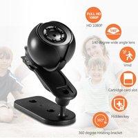 Webcams 1920 × 1080 P SQ6 Mini DV HD 1080 P Eylem Kamera Araba Video Kamera Gece Görüş Hareket Detenesi ile 12MP