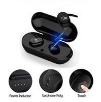 TWS Bluetooth Fone de ouvido 4 Fones de ouvido Jerry sem Fio -Compatible 5.0 com Mic Ruído Cancelando Earbuds Touch Control Estéreo Baixo Headset