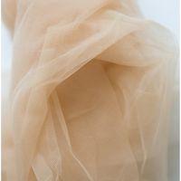 Tissu de dentelle tulle softone, tissu nude, robe de mariée Veil Veil Veil Fleur Robe Dentelle Couture 150cm Large T200810