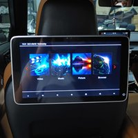 Car Video 2021 Est Android 10.0 System Headrest Player TV Monitor For 5 7 X5 X6 Rear Seat Multimedia DVD Screen 13.3 Inch