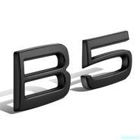 Autocollant arrière Noir B5 Trunk pour Volvo XC40 XC60 XC90 XC70 XC80 B5 B6 V90 S60 S70 S80 S90 V40 V60 C30 D2 Autocollant Volvo ABS