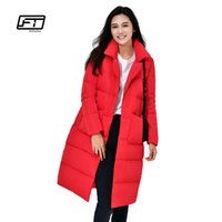 Fitaylor Yeni Kış Kadın Ultra Işık Aşağı Ceket Orta Uzun Sıcak Parkas Karışım Nedensel Ceket