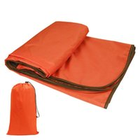 Sleeping Bags Outdoor Picnic Blanket Waterproof Foldable Warm Mat Portable Windproof 71x57 Inch With Carrying Bag For Camping Hiking