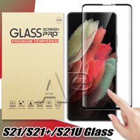حماة شاشة الغراء الكامل الزجاج المقسى لسامسونج غالاكسي S21 S20 الترا ملاحظة 10 9 8 زائد S10 S9 S8 S7 حافة لا حزمة