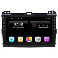 도요타 Prado 2004-2009 안드로이드 자동차 스테레오 오디오 10.1 인치 터치 스크린 GPS 네비게이션 더블 딘 블루투스 FM 수신기 전화 미러 링크, + 백업 카메라