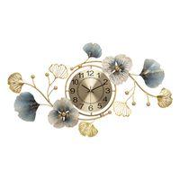 Cinese stile moderno arte muro orologio di lusso vivente silenzioso creativo 3d grande orologi da parete ristorante retroj pared home decor dl60wc 210401