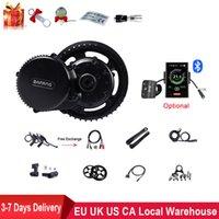 BAFANG BBS02B 48 V 750 W Orta Sürücü Motor Dönüşüm Orta Motor Seti Elektrikli Bisiklet Ile LCD 850C Ekran MTB