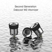 DABCOOL W2 V2 Atomizer İkinci Nesil Atomizörler Sazan Kapaklı Su Bong Kartuşu