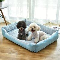Ящики Pet Nest Dog Дом Летняя кровать Мат Кот Четыре Сезоны Общие продукты