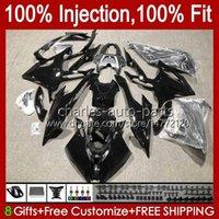 Body Injection Mold For BMW S1000 Gloss black S-1000 S 1000 RR 2019 2020 2021 Bodywork 21No.87 S 1000RR S-1000RR S1000-RR 19-21 S1000RR 19 20 21 22 OEM Fairing 100% Fit