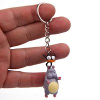Cartoon keychains 1 Pcs Kawaii Fly Mouse Keychain Animal Key Chains Bag Pendant Car Keyring Action Figure Toy Gifts