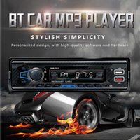 Car Universal 1DIN Smart Car Stereo HiFi Music Bluetoooth-Compatible Receiver MP3 player FM Automatic Multimedia Audio Player