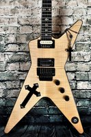 Guitare électrique personnalisée de haute qualité, Croix-Sud Dimebag Darrel