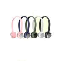 Draagbare Blaiseloze Hanging Hals Ventilator USB Oplaadbare Handen Gratis Cooler 3 Speed Wind Dames en Mannen Hoofdtelefoon Ontwerp Mode Koelen Lage Voice Fans voor Sport