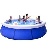 Poolzubehör extra große schwimmendicker aufblasbare kinder im freien erwachsene familien basen ogrodowy di50yc