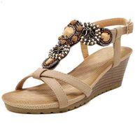 Mvvjke absges Beach Sandalias Женские сандалетные сандалии на высоком каблуке 210619 5ya3