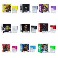 Cookies Glow JAR хранилище может светодиодное хранилище можно Stash 155 мл E CIG аксессуары пустая бутылка с красочными новыми пакетами USB аккумуляторное курение