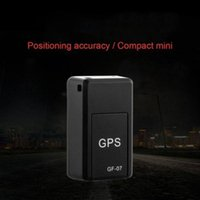 GF-07 GPS تعقب مركبة قوية المغناطيسي المغناطيسي التركيب المجاني مصغرة تتبع محدد موضوع شخصي مكافحة المفقودة التتبع المضادة للخف