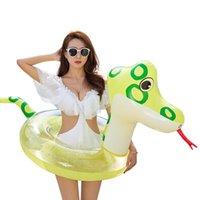 Life Colete Bóia Inflável Círculo Transparente Círculo Chinês Zodíaco Animal Snake Pool Flutuador Barco Ring Barco Inflado Água Brinquedos