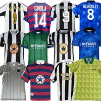 95 96 Ginola Shearer 97 98 99 05 06 Newcastle Retro Fútbol Jerseys Hamann Sheareer Pinas 1984 95 1997 05 06 Asprilla Beardsley Speed Retro Classic Football ShirtsUnités