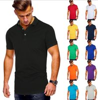 Men's Polos Plus Size Cotton Casual Shirt Summer Short-sleeved European And American T-shirt Custom Clothing