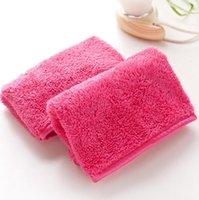 Microfiber полотенце женщины для съемки макияжа многоразовые полотенца для очистки лица ткань красоты аксессуары HHE5986