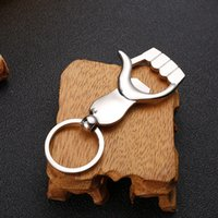 Keychain Bottle Opener Hand Shape Palm Key chain Ring Beer Can Openers Keyring GWE9664