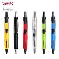 Ballpoint Pens 1pcs Tombow Presión de aire Pensión BC-AP Shorthand 0.7mm Negro Core Estudiante Oily Outdoor Ingeniería