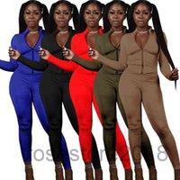 Women Designer Tracksuit 2 Piece Set Sports tracksuits Leisure Fashion Long Sleeve Pants Outfits Zipper Top Trousers Jogging Suit cy807