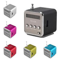 TD-V26 Mini Radio Receiver with USB Portable Speakers With FM Radio Digital For PC Phone Mp3 Music Player Support Micro SD Card