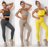 Tracksuits Designer yoga wear Women Suit Gym outfits Sportswear Fitness Align pant Leggings workout set tech fleece for woman sexy t shirt new style girls active bra