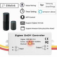 스마트 홈 컨트롤 ZigBee Dimmer App LED 스트립 스위치 냉장고 공기 팬 액세서리 Alexa와 CCT 작업
