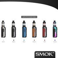 """100% Original SMOK Fortis Kit 80W Powered by Single 18650/21700 battery With 6.5ml TFV18 Mini tank adopts 510 thread 0.96"""" TFT color screen"""