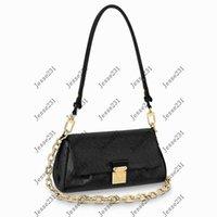 최고 품질의 여성 좋아하는 검은 색 empreinte 어깨 가방 정품 가죽 몬트 바디 메신저 핸드백 Strap Crossbody Bag Tote M45836 M45813