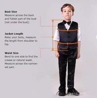 Men's Suits & Blazers Notch Lapel Two Buttons Bule Children's Cool Handsome Blazer Custome Homme Fashion Boys Formal Classic(Jacket+Pants)