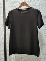 Mens T Gömlek Bronzlaştırma Polo Baskı Mektubu Kısa Kollu Kadın Tshirt Üzerinde T-Shirt Kız Kadın Yaz Moda Giyim
