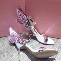 2021 мода женские сандалии, сияющие дизайн бабочки, роскошный и элегантный, позвольте вам привлечь внимание