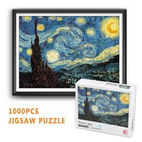 1000 pcs puzzle playset kids intelligent educational toys interting jigsaw with color boxN2L5