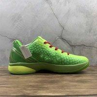 2021 Venda Mens 6 VI Green Hornet Basketball Sapatos BHM Proto All-Star 6S Designer Sports Sneakers Tamanho 7-12