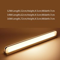 Wall Lamp Led Long Light Decor For Home Bedroom Living Room Surface Mounted Sconce Lighting Fixture Mirror