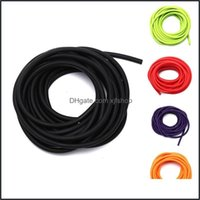 Resistance Equipments Fitness Supplies Sports & Outdoorsresistance Bands 5Mm*5M Outdoor Natural Latex Rubber Tube Stretch Elastic Slings Rep