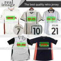 Valencia En İyi Kalite Yeni 2000 2001 2006 Retro Jersey Home 00 01 09 10 Yumuşa Camisetas Angulo Aimar Djukic Mendieta L.Milla Futbol Gömlek