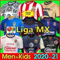 Liga MX 21 22 Club Amerika Futbol Formaları Leon Üçüncü Camisetas 2021 2022 Tijuana Tigres Unam Chivas Cruz Azul Futbol Gömlek 3rd Çocuk Seti