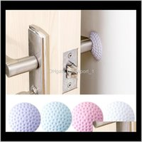 4 Colors 5Cm Golf Modelling Rubber Fender Handle Door Lock Protective Pad Home Wall Stickers Thickening Mute Fenders Aaa502 Ja9P2 1Gna9