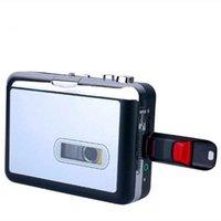 Cassette Decks Tape player USB Walkman music audio to MP3 converter save files on flash memory drive
