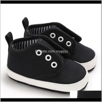 Baby, & Maternity Drop Delivery 2021 Born Autumn Canvas Fashion Baby Boy Girls Shoes First Walkers Soft Cotton Sports For Kids Ig75G
