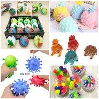 Mescoli colorati Squishy Anti Stress Balls Spremere giocattoli Decompressione Ansia Ansia Venting regalo per i bambini