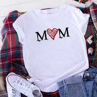 Women's Wear Com Mom Printed Short Sleeve T-shirt